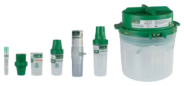 Secur Biop Biopsy Containers