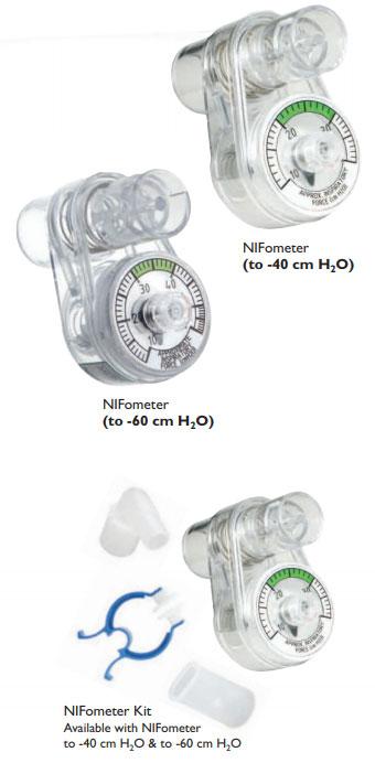 NIFometer® Negative Inspiratory Force Meters